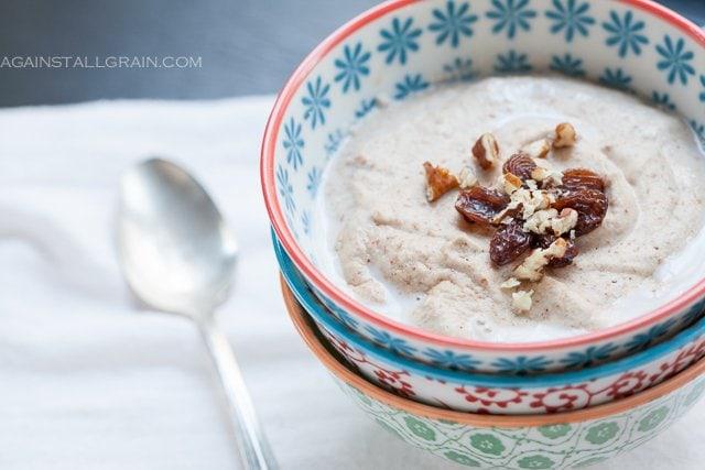 #Whole30 Banana Nut Breakfast Porridge