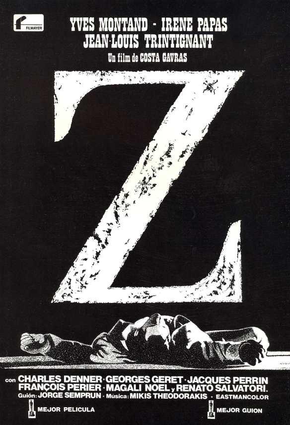 "Costa Gavras, ""Z"" (1969)"