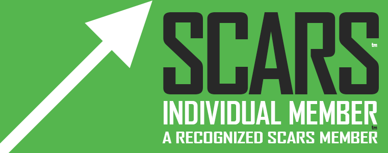 SCARS - Society of Citizens Against Romance Scams - Individual Membership Badge