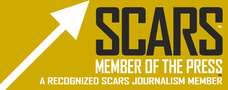 SCARS™ Member Of The Press