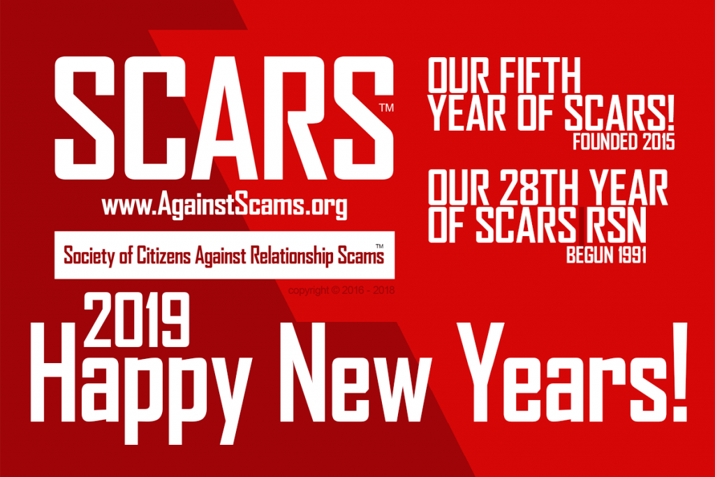SCARS Beginning Its Fifth Year Of Service - With 28 Years Of Experience