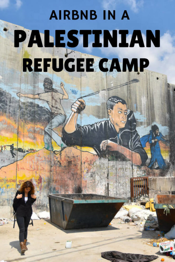 Airbnb in Dheisheh a Palestinian refugee camp in