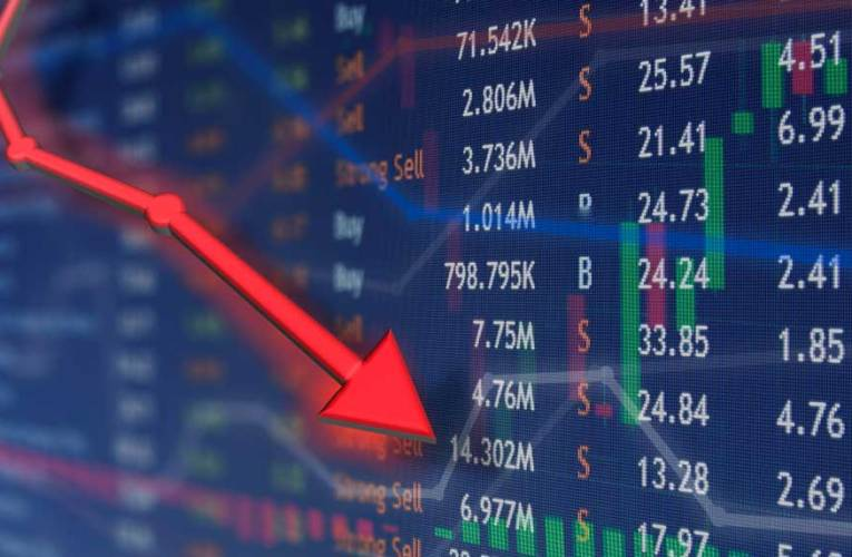 Stocks Down After Short-Lived Jump