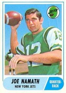1968 Topps Football Set Marked Company's NFL Return