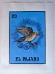 Title: El Pajaro. Size: 20.5 x 29cm