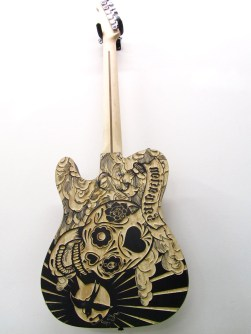 Giant Sounds Woodblock / Guitar - Back
