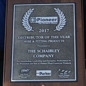 2017 Distributor of the Year Award: Pioneer Hose & Fitting Products