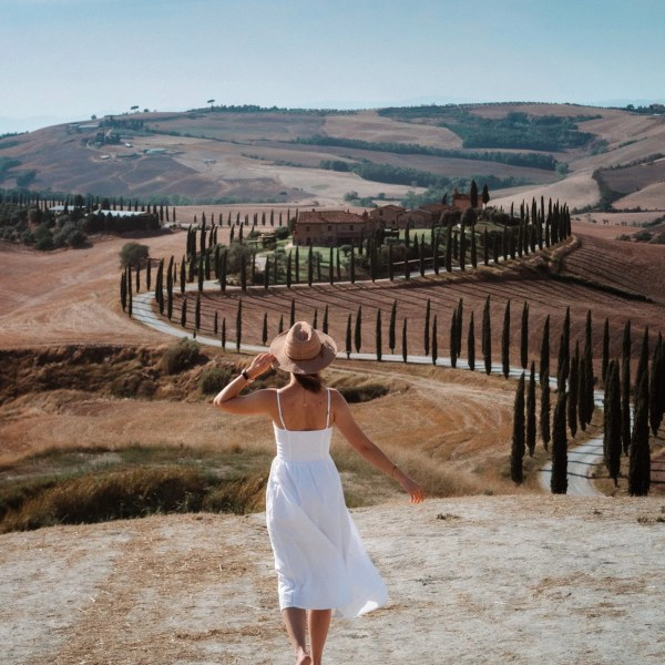 Photo locations in the Tuscan countryside