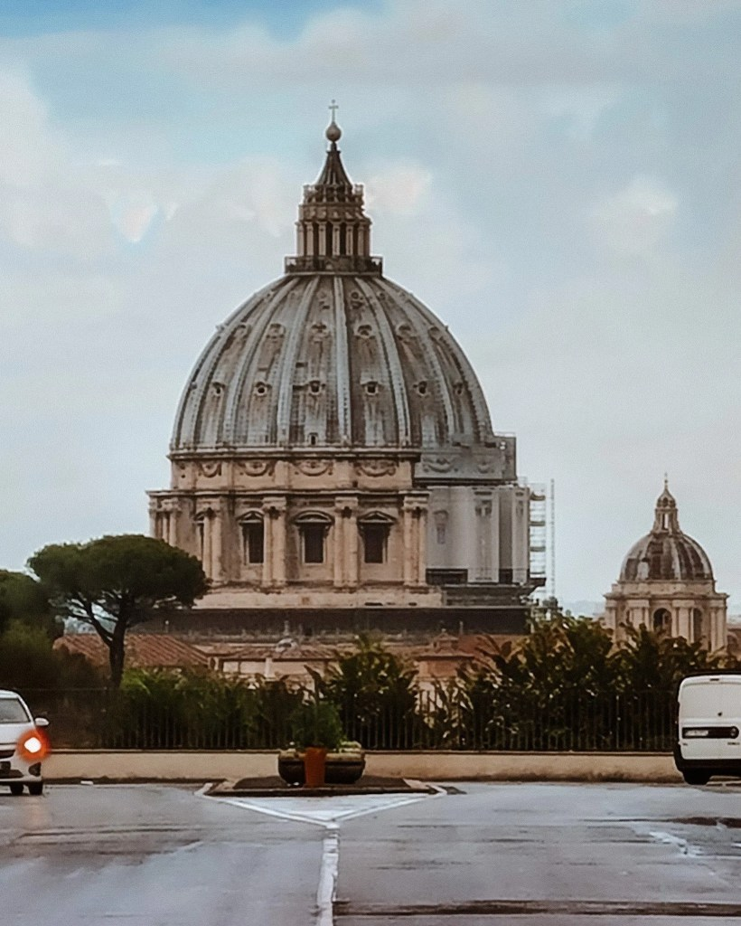 View of St Peter's Dome, Rome