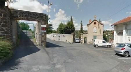 Entrée parking du Grand Séminaire du Puy