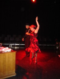 Dave Lovelace & Georgia Medler. Photo by Jeff Knoll.