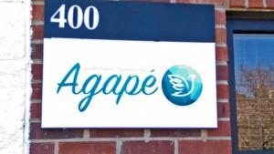 Agape Sign