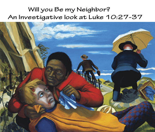 Logo for will you be my neighbor