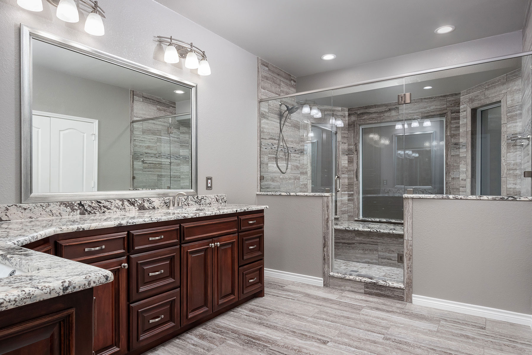 Awesome Picture of Remodeled Bathroom Pictures  Fabulous