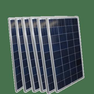Solar panel six pack