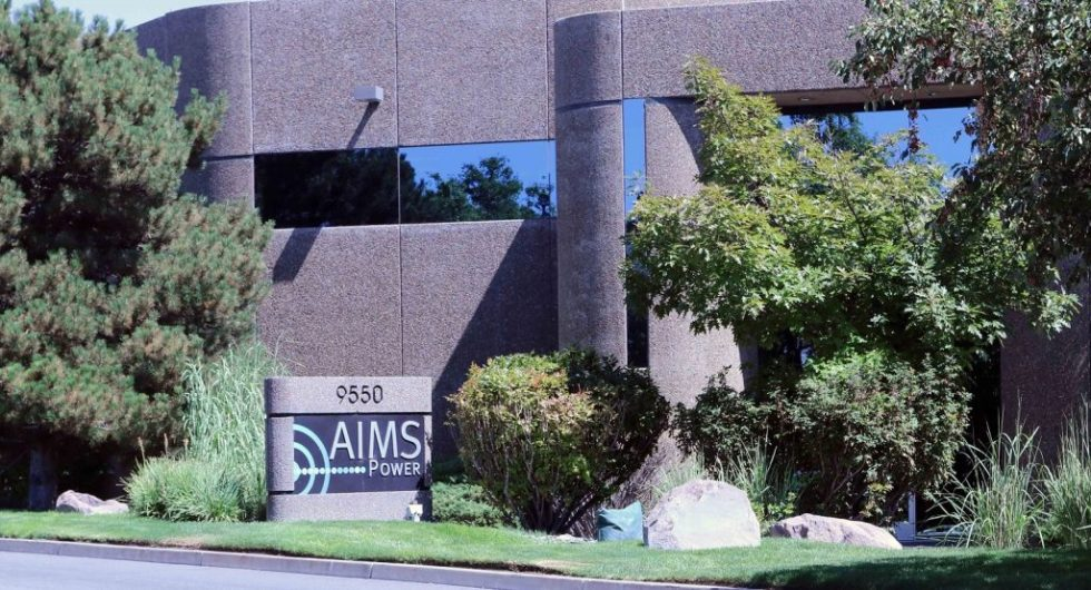 Aims Power authorized reseller