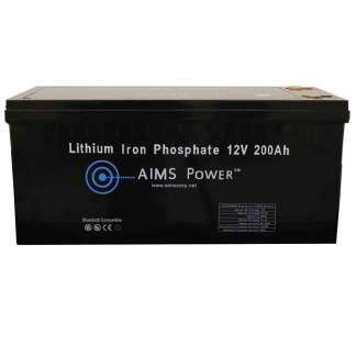 LiFEPO4 12v 200 AH Lithium Battery