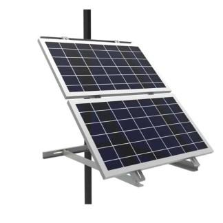 2 Solar Panel Pole Mount Bracket