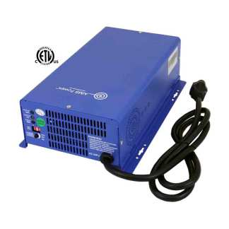 AIMS AC Converter / Battery Charger 12V & 24V Smart Charger 75 Amps – Large Charging Capacity Listed to UL 458/CSA
