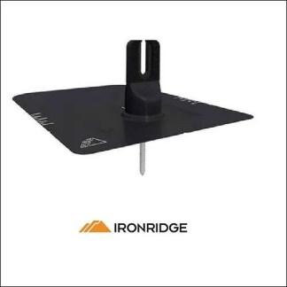 IronRidge FlashFoot 2 Kit Single Black Bonded