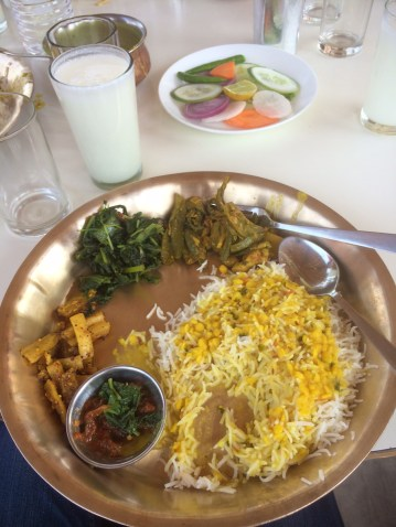 Nepali Set Meal: Dal Bhat and other delicacies