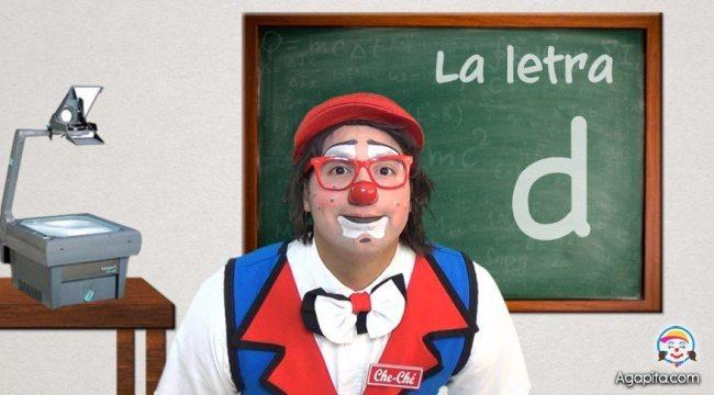 Alfabeto para niños: Letra D