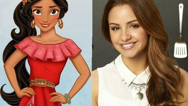 Princesa Elena de Disney, por Aimee Carrero