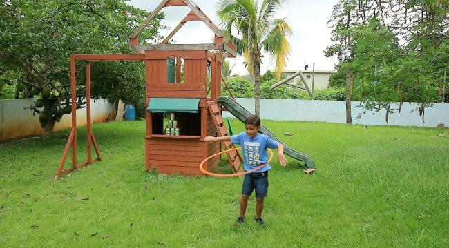 Juegos de verano - baila con el Hula Hoop
