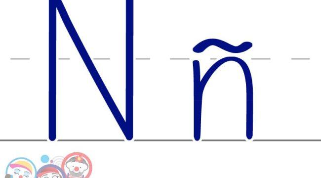 Escritura letra nn