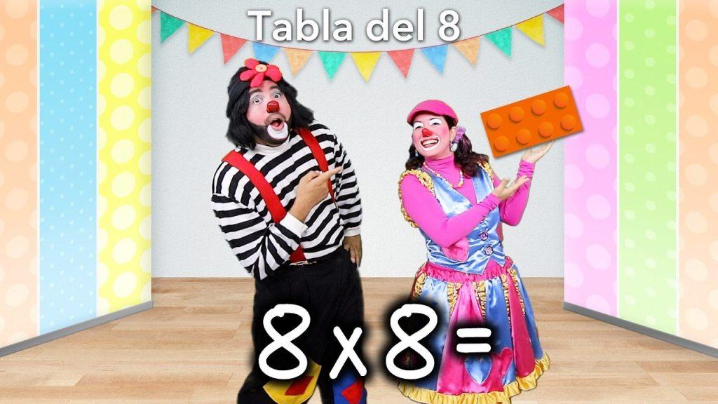 Multiplicación: Tabla del 8