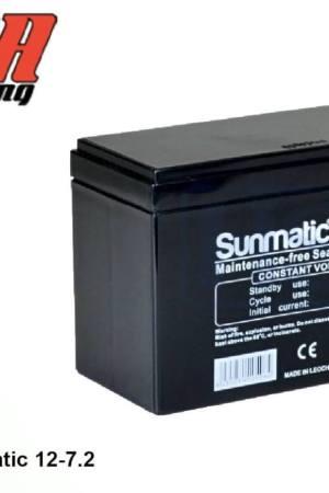 comprar bateria sunmatic 12V X30 y Puma 85/64
