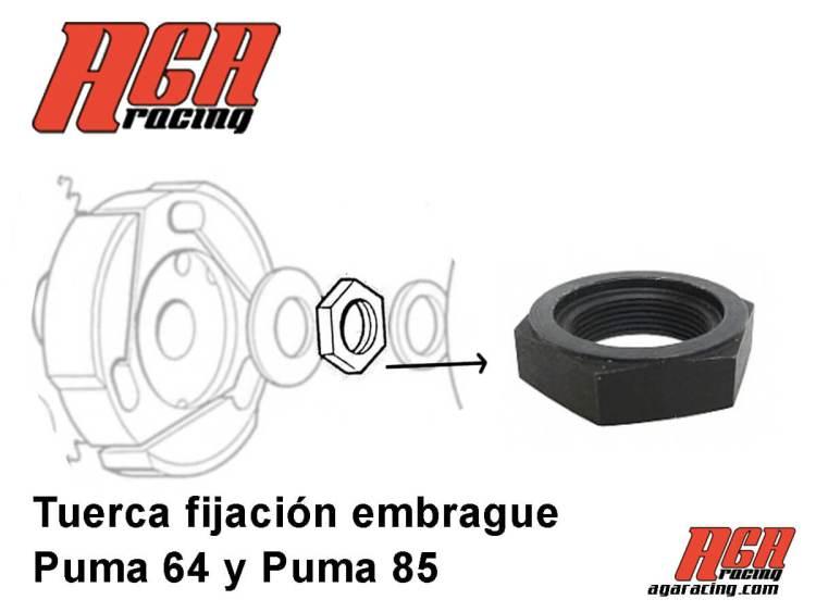 comprar tuerca fijacion embrague Puma 64 y Puma 85