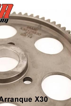 Detalle corona de arranque para motor x30