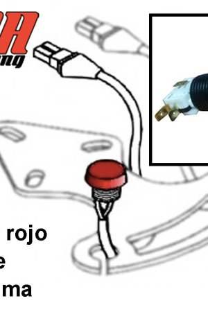 comprar pulsador rojo con cable Puma 85/64