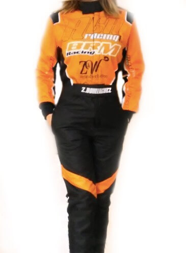 Mono piloto AGA Racing vista frontal