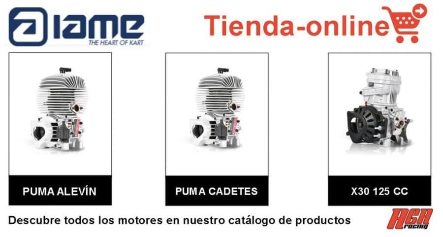 motor kart iame catalogo productos de agaracing tienda online venta motores para karting