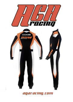 Mono karting BRM Racing homologado parte trasera