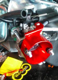 Filtro de Aire com casquillo adaptador motor 4 Tiempos