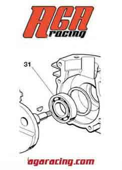 Rodamiento cigüeñal motor puma 85 6205 C4 AGA Racing tienda online karting
