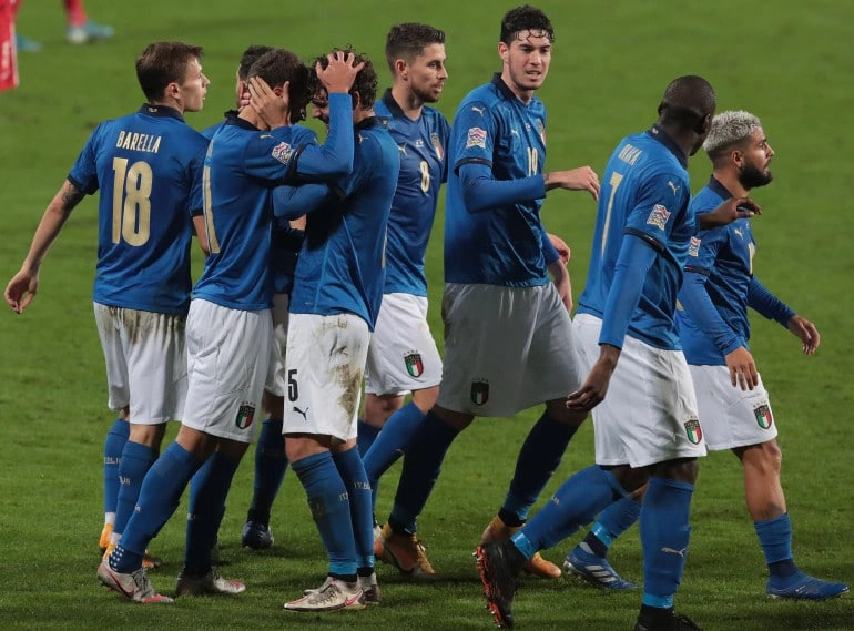 Italy players uefa nations league