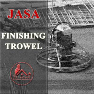 Jasa finishing Trowel