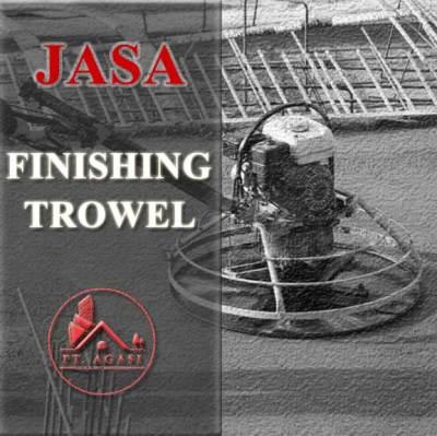Jasa finishing Trowel