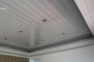 Desain Plafon PVC Polos