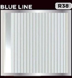 plafon pvc motiv blue line