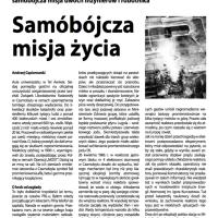 Polska bez Cenzury: Samobójcza misja życia