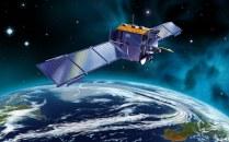 Space Satellite CG art images EF08_SI0286-1