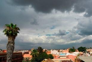 it was raining today!