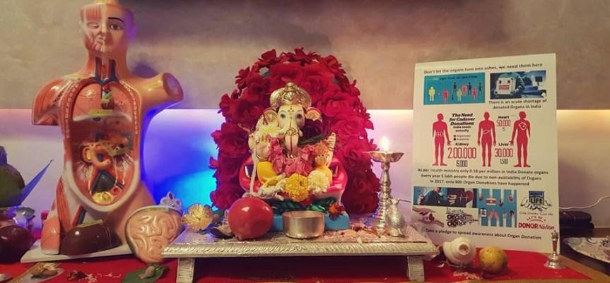 Mumbai Man Spreads Lord Ganesha's Message For Organ Donation