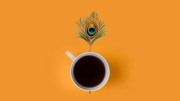 Bhagavad Gita Over a Coffee