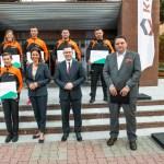 KGHM Polska Miedź S.A. wspiera polskich sportowców – stypendium dla Daniela Romańczyka